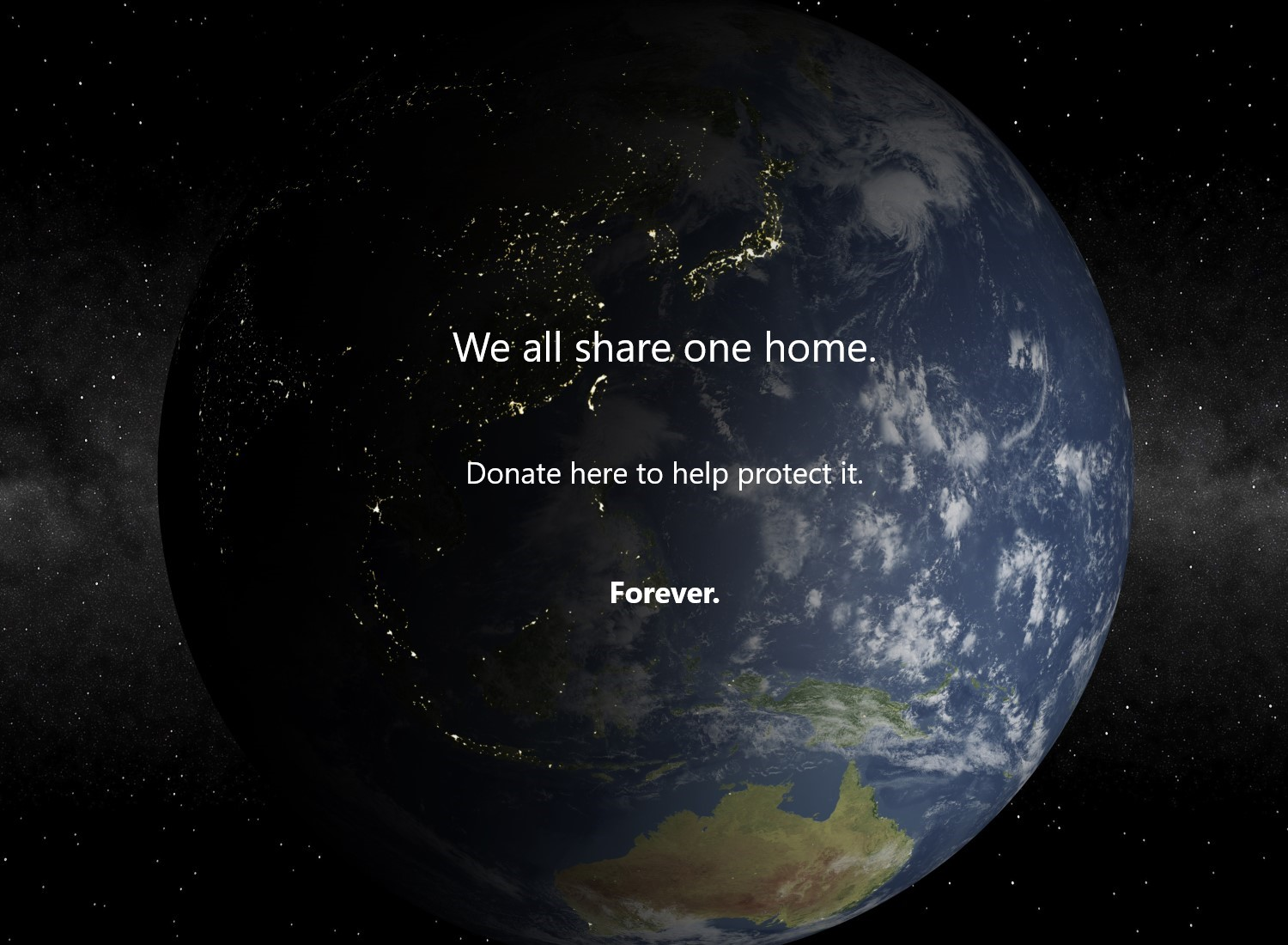 Earth donation image1